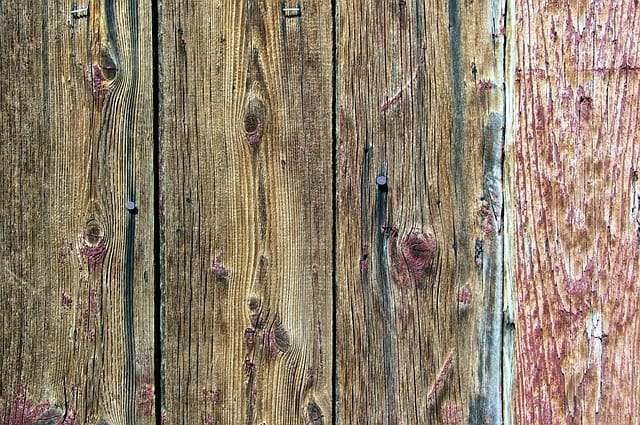 wooden siding