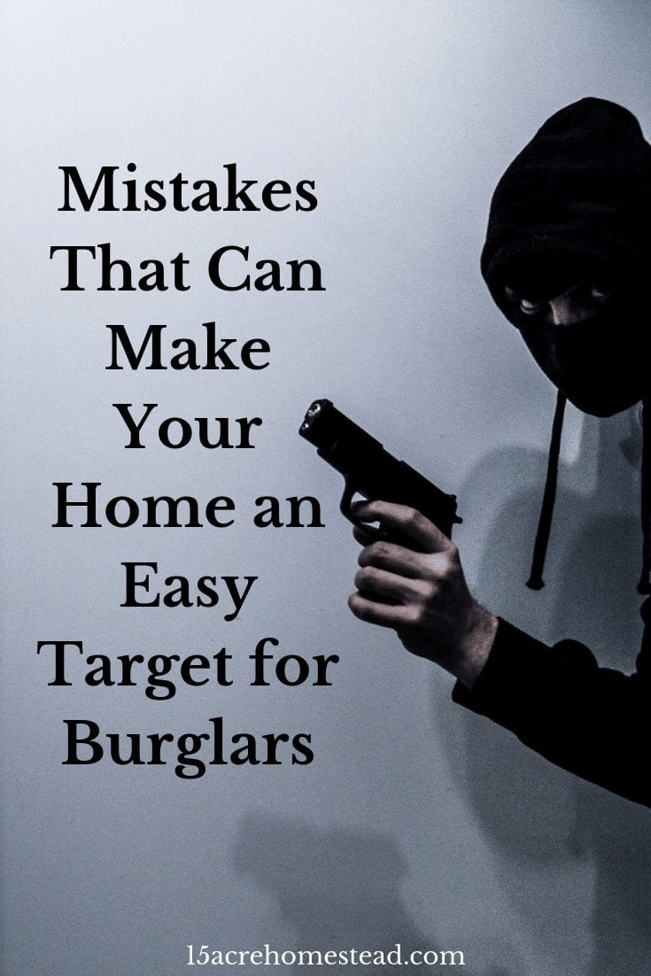 Figures from the Federal Bureau of Investigation show that some 2.1 million homes in the United States fall victim to burglars each year. Your home could be their next target if you commit the following mistakes that make your home vulnerable to break-ins.