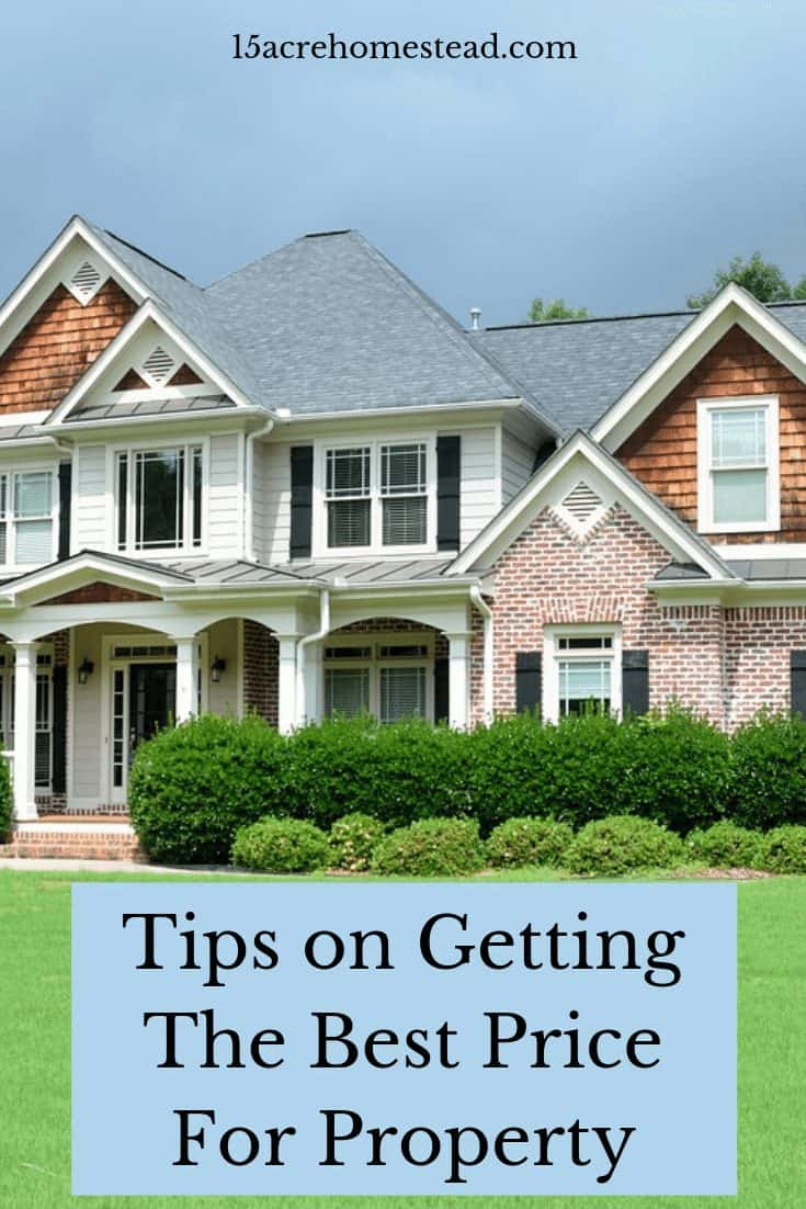 It is so important to be getting the best price for your property when selling your home. Here are tips to help you do so. #sellingyourhome #moving