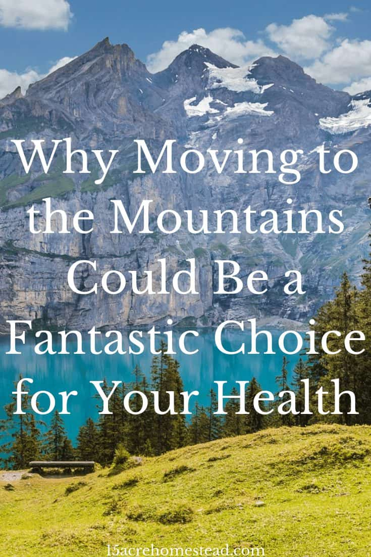 Find out why moving to the mountains could be the change you need in life to not only live a more comfortable and healthier lifestyle but also to help you embrace life outside of the city.