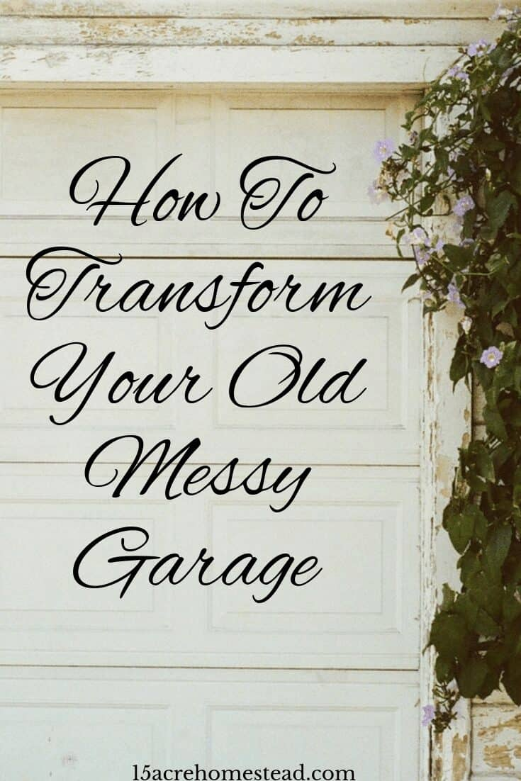 Take a look at what you can do to transform your old messy garage into a room you can really use and make the most of.