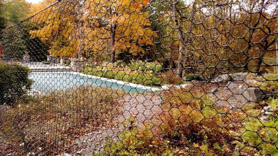 Steel-hex-web-metal-deer-fence