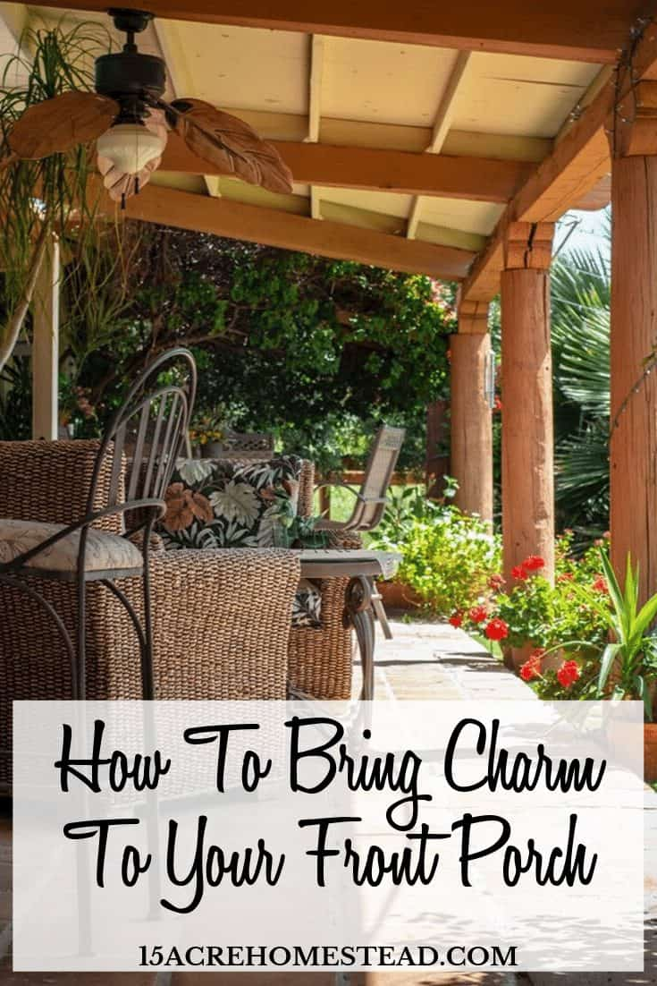 Are you looking to add charm to your front porch? Try some of these ideas right now!
