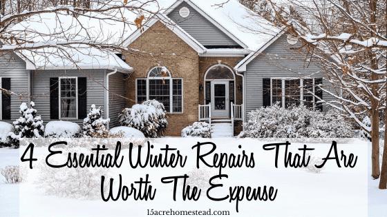 winter repairs