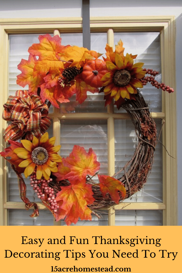 Here are some fun and easy decorating tips to cozy up your home for Thanksgiving.
