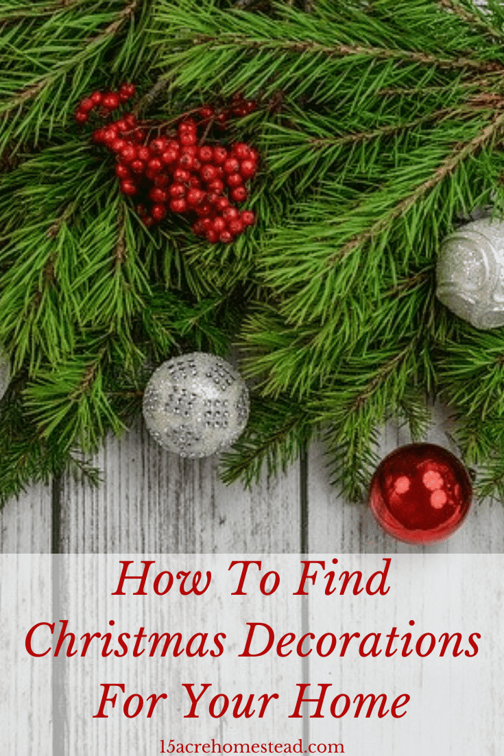 Check out these simple tips to find Christmas decorations for your home this holiday season.