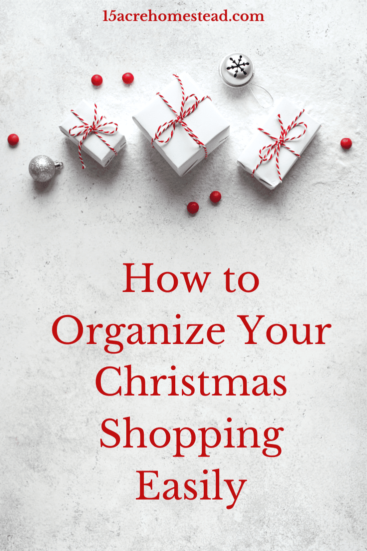 Organize your Christmas shopping easily with these simple tricks!