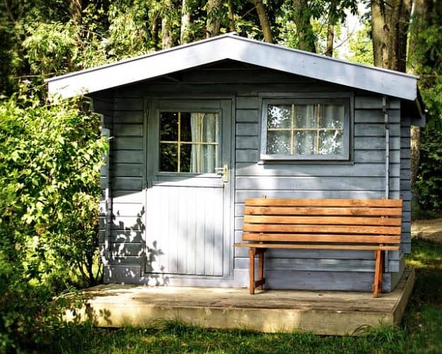 Make money from a garden shed by turning it into a home office