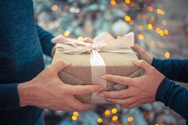 unexpected visitors gift giving