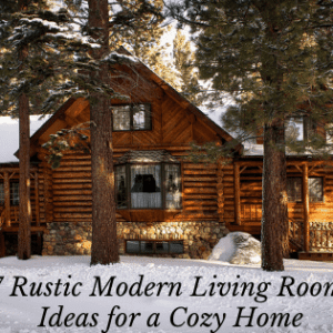 7 Rustic Modern Living Room Ideas for a Cozy Home