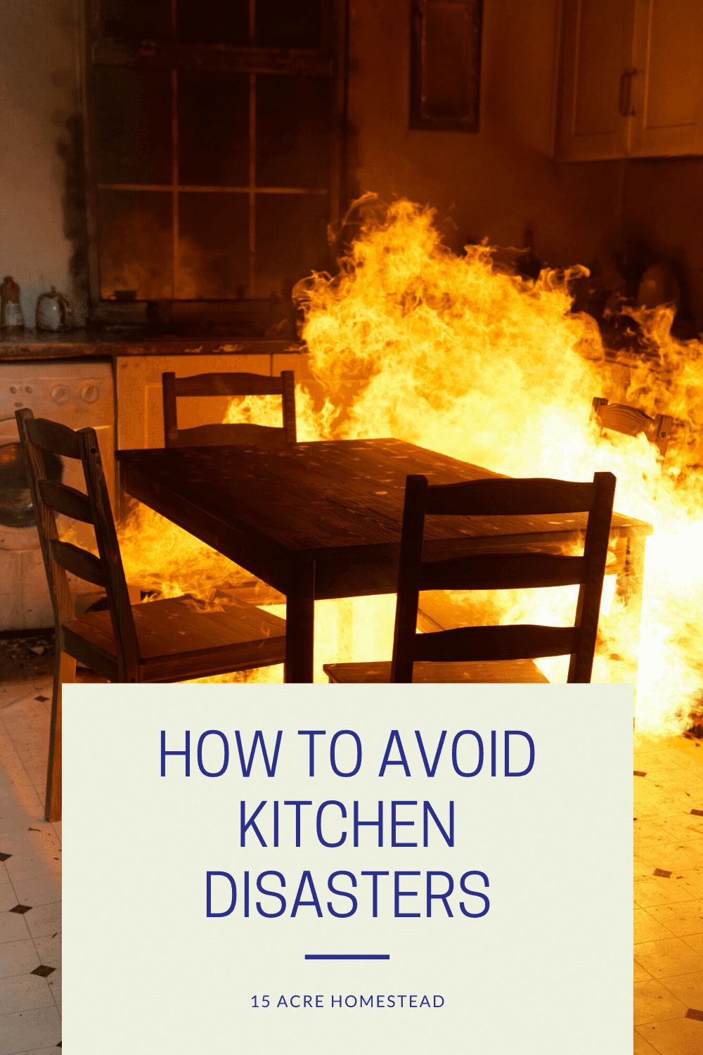 Use these simple tips to avoid kitchen disasters in your home.