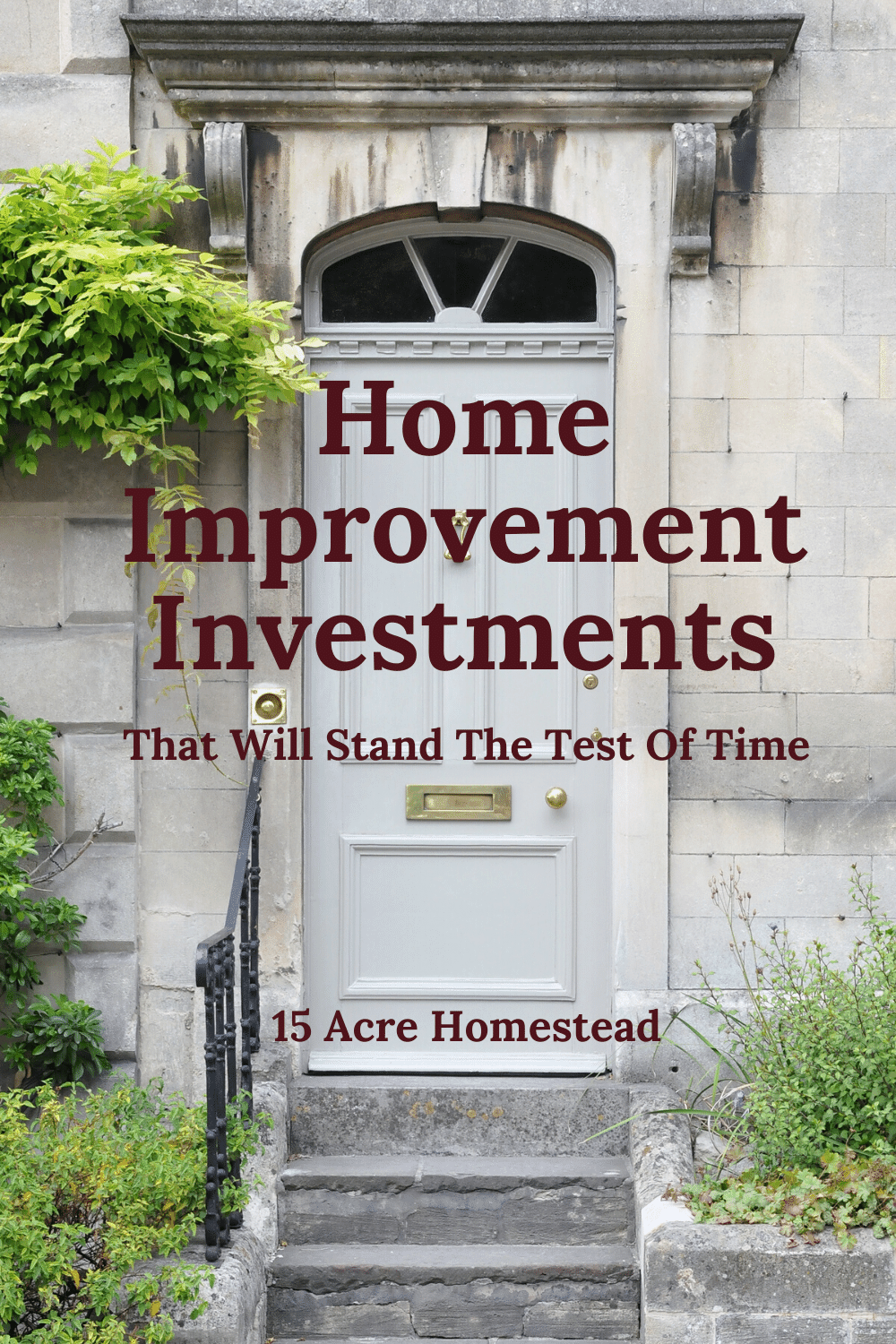You will want to make sure that the home that you are living in now is still going to meet the demands of your family several years from now. You may want to sell your home and move on in a few years too. In either of these scenarios, it will be important to make some home improvement investments in the future.