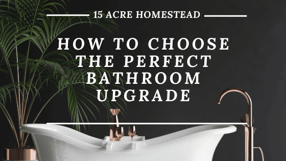 perfect bathroom upgrade
