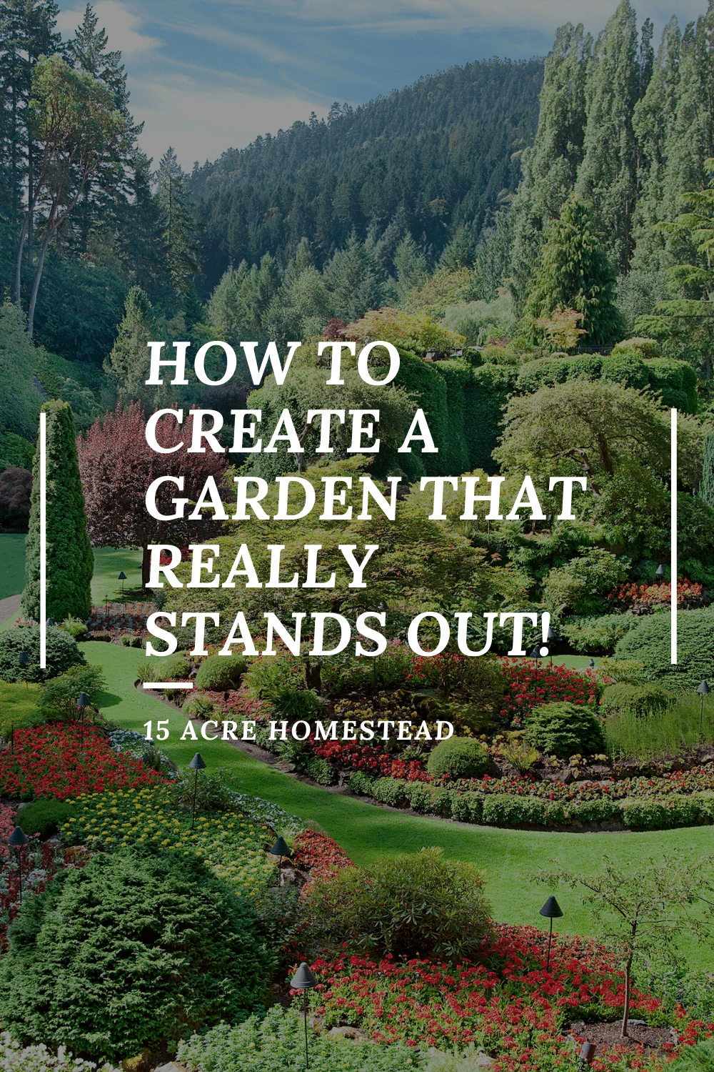 Check out these tips if you plan on creating a garden on your homestead!