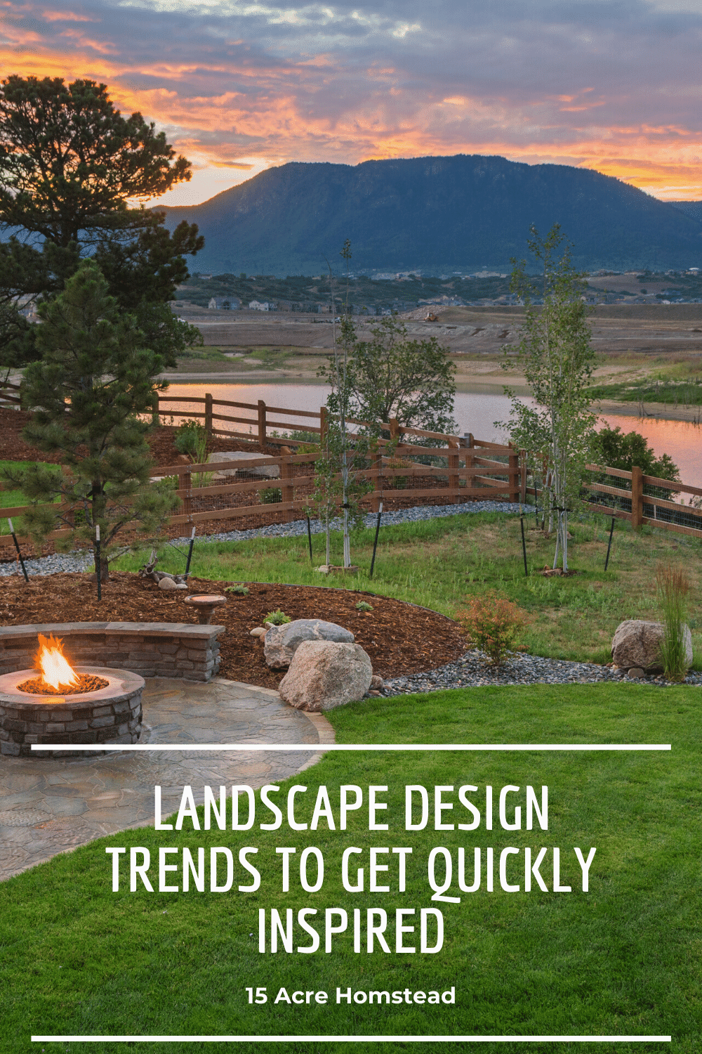 Find inspiration for your home with these landscape design trends.
