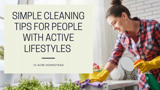 simple cleaning tips