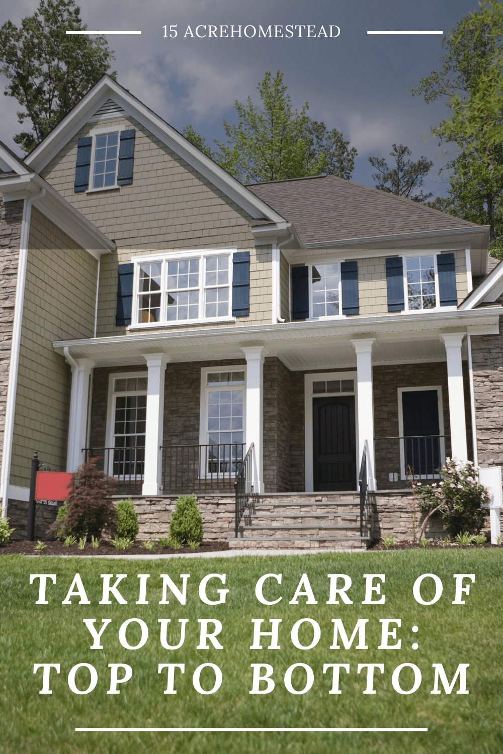 Use these quick tips to learn how to take care of your home from the foundation to the roof.