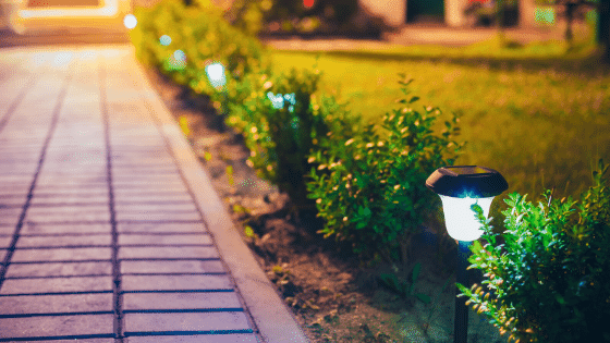 Pathway lights make for a great landscaping addition.