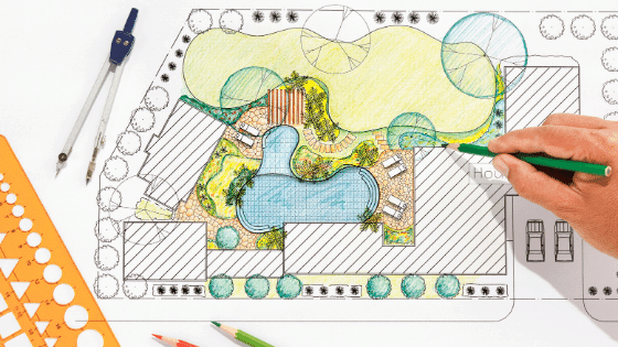 To reimagine your landscape design you need a plan.