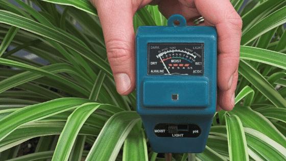 a soil tester