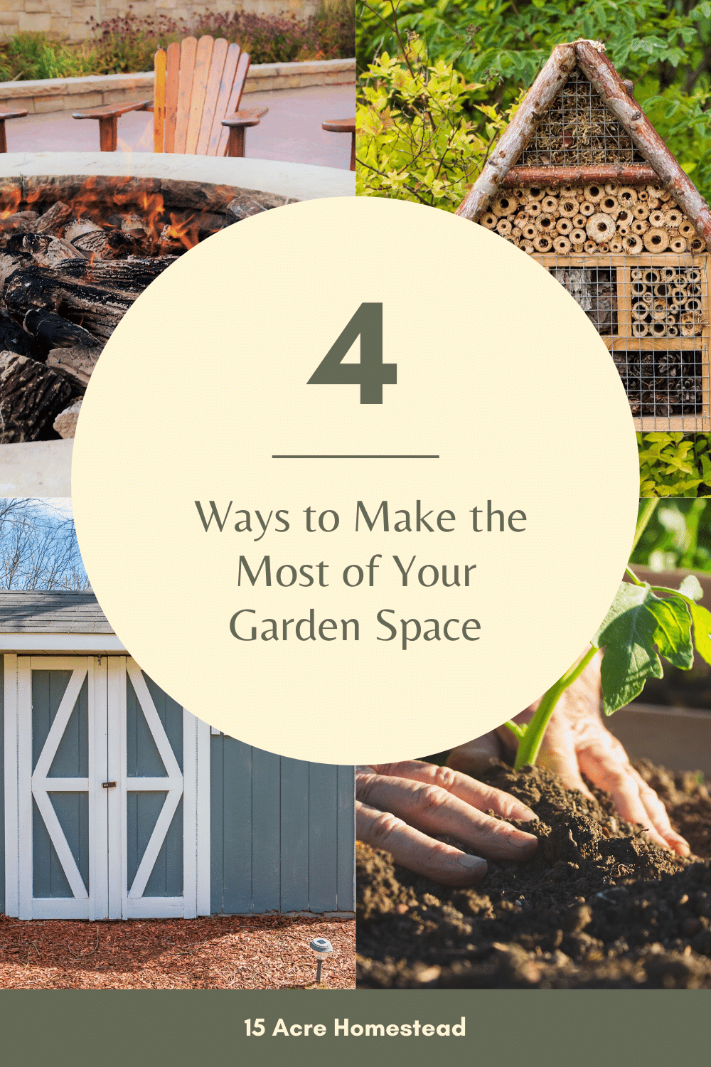 Use these quick and simple tips to make the most of your garden space on your homestead.