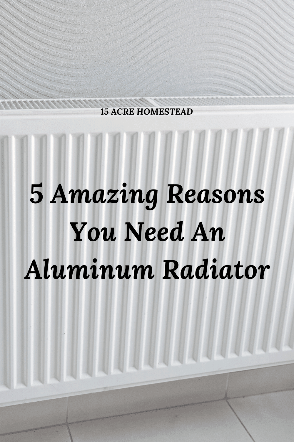 Find out why you should be using aluminum radiators in your home today!