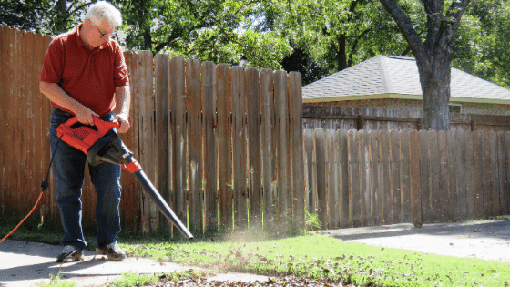 leaf blower feature