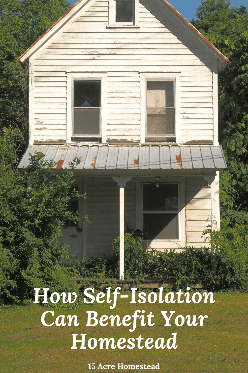 The current pandemic that is spreading through the world puts everyone at risk. But for homeowners, self-isolation from your homestead can put you in a better position to support your local community and the health services.