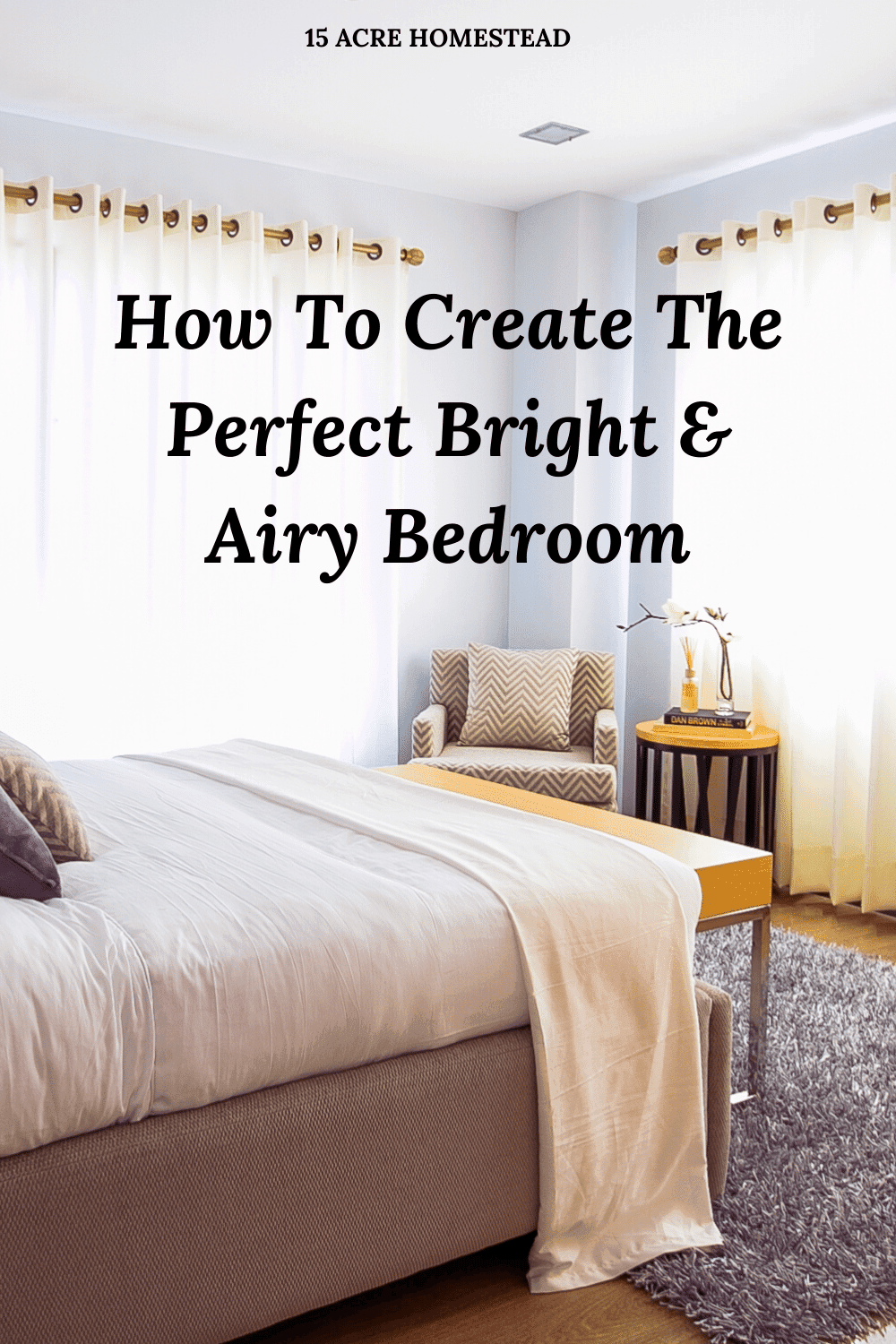 Are you looking to make some changes to your bedroom? Use these tips to create a new bright and airy bedroom again in your home today!