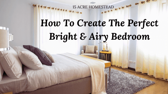 bright and airy bedroom featured image