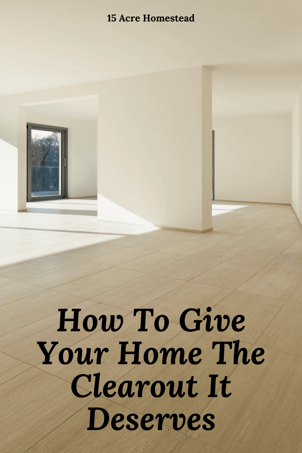 Give your home a good clearout using these tips and tricks.