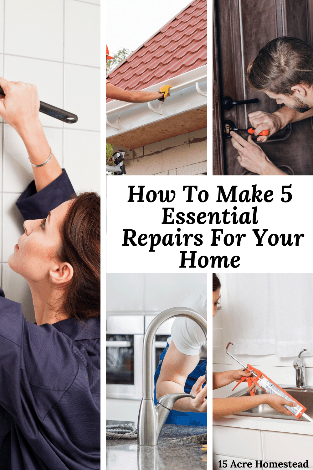 Use the tips here, to make essential repairs for your home before it costs more than you bargained for.