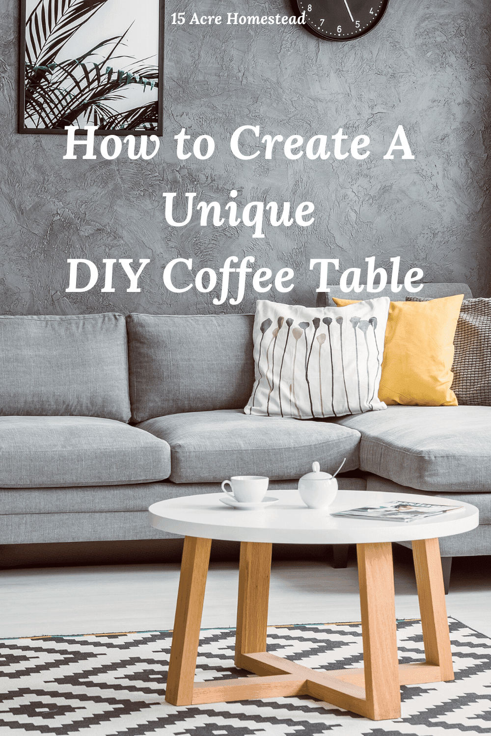 Looking to create a unique piece for your living space? Use these tips to create a one-of-a-kind coffee table today.