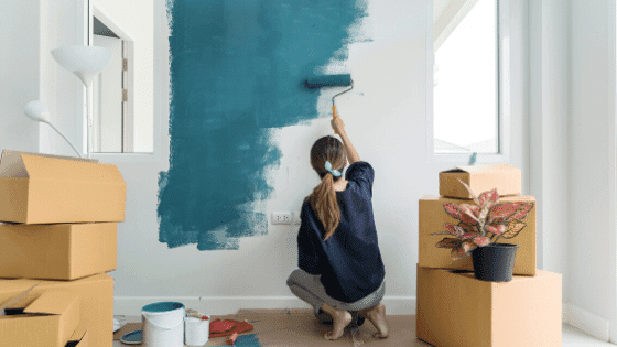 refresh your home with a coat of paint
