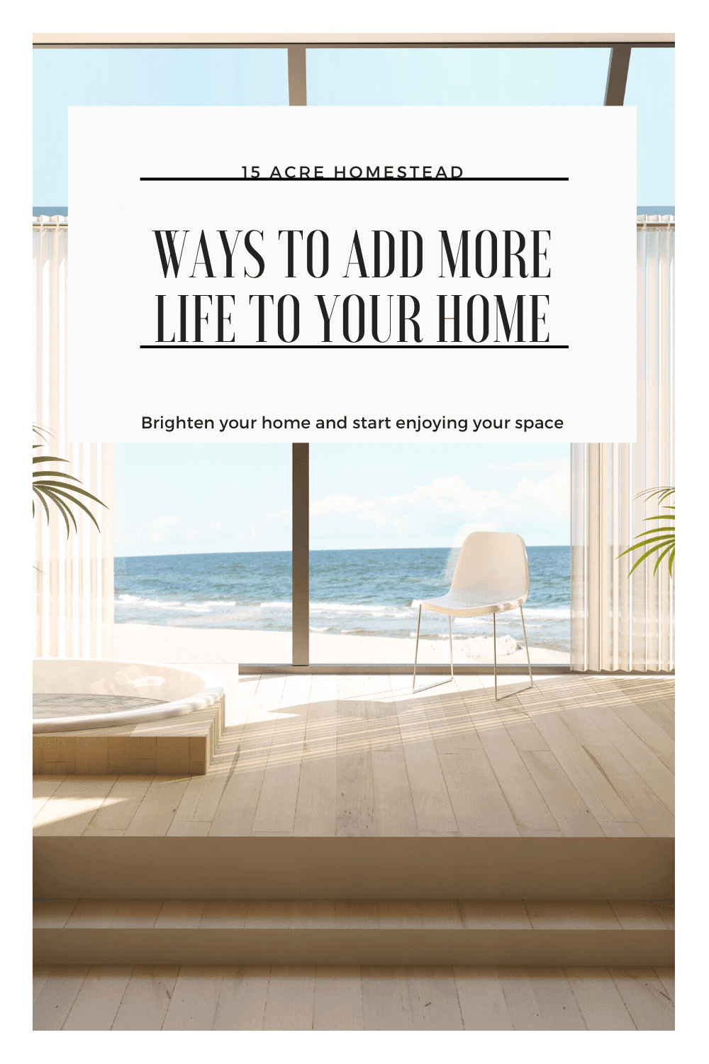 Use these simple tips to bring life back into your home!