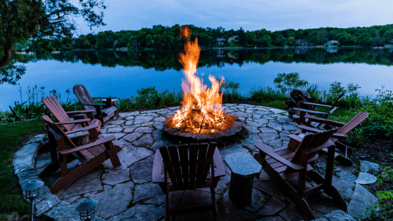 A fire pit can breathe life in your garden.