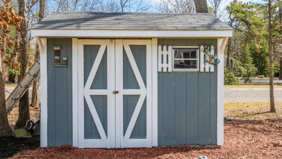 Every garden space needs a garden shed