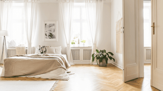 Airy curtains can add more life to your home
