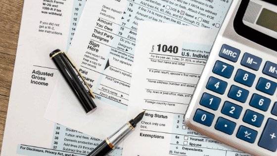 Taxes are important records to keep for a successful homesteading business