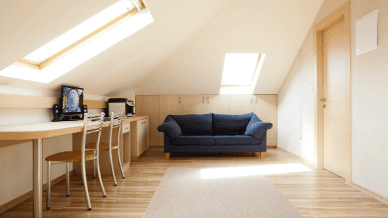 A skylight adds life to your home
