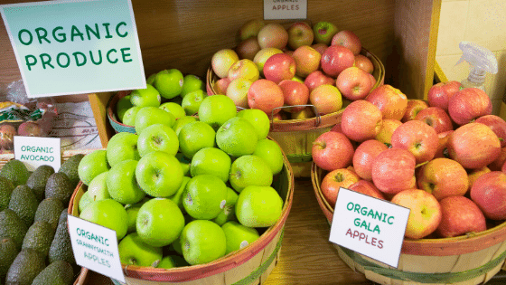 Produce for sale