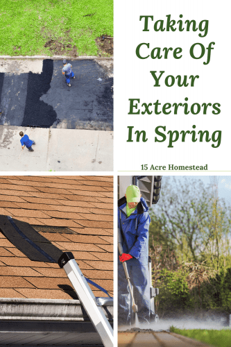 Find out a few ways you can take care of your exteriors in Spring and save time in the summer and fall.