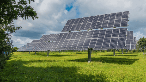 Solar panels will help save the environment