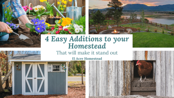additions to your homestead