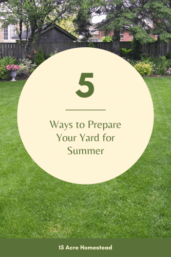Warmer weather has you looking forward to summer barbecues and the small gatherings that will soon be allowed. It's time to prepare your yard to be seen by people again!