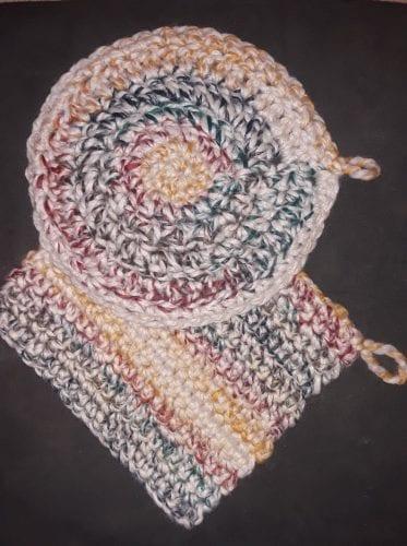 Hand Crocheted Pot Holders