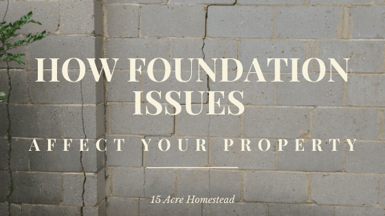 Many people are not aware of just how damaging foundation issues can be to your home.