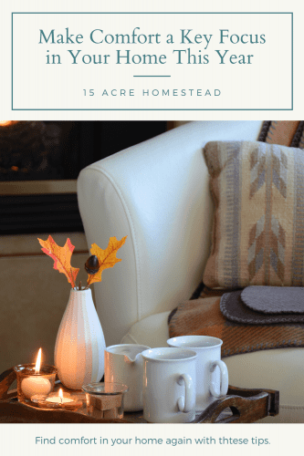 There are a lot of features that play a role in helping your home thrive and for you to get more enjoyment out of it, and one of the key ones is to make comfort a focal point.