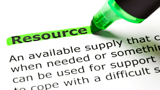 Definition of resources