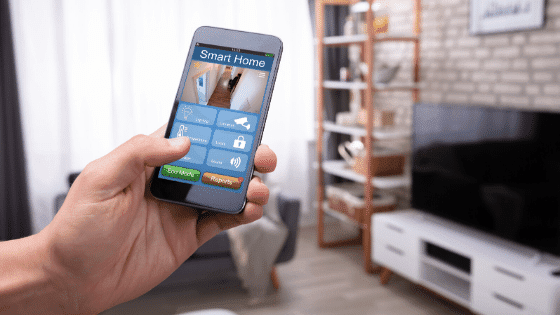 Protect your nest by installing a security system that ties in to your phone.